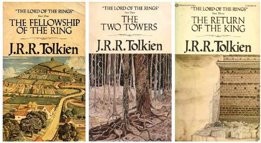 The Lord Of The Rings Trilogy Books