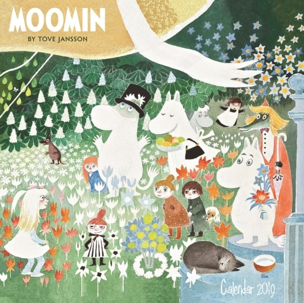The Moomins Book Cover
