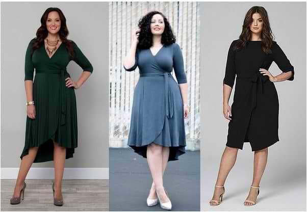 fashion for full curvy women