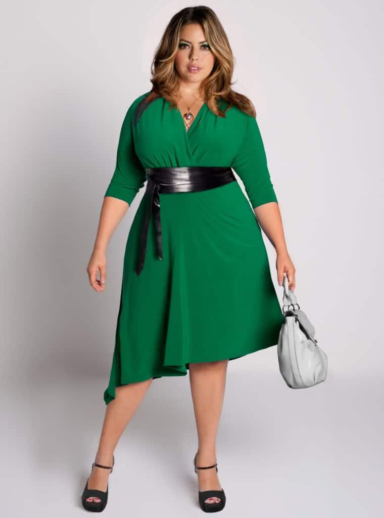 Dress for curvy ladies