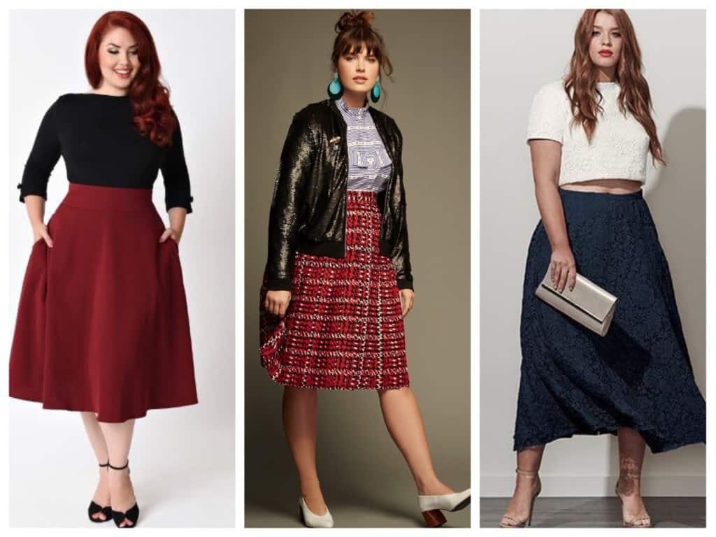 skirts for full women