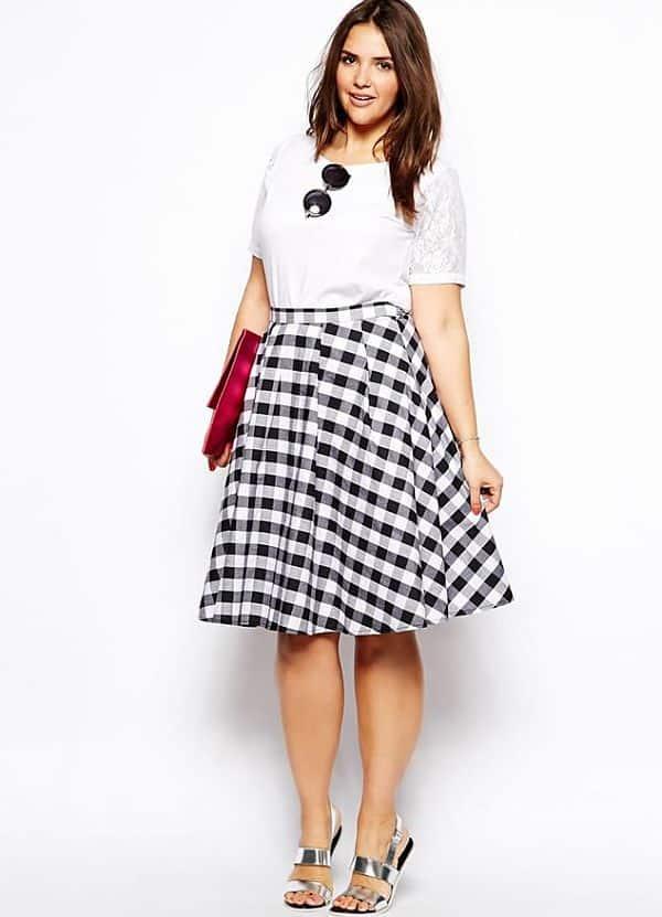 skirt for full women