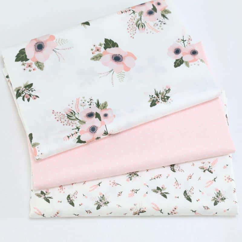 Cotton Fabric With Prints