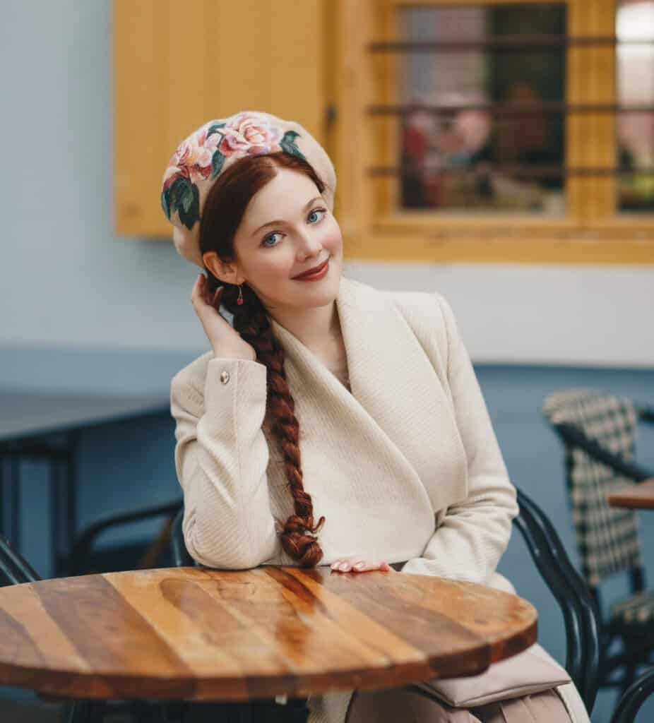 "Rebecca Lord Felted Beret ""Beretro Collection"""